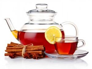 корица в чае