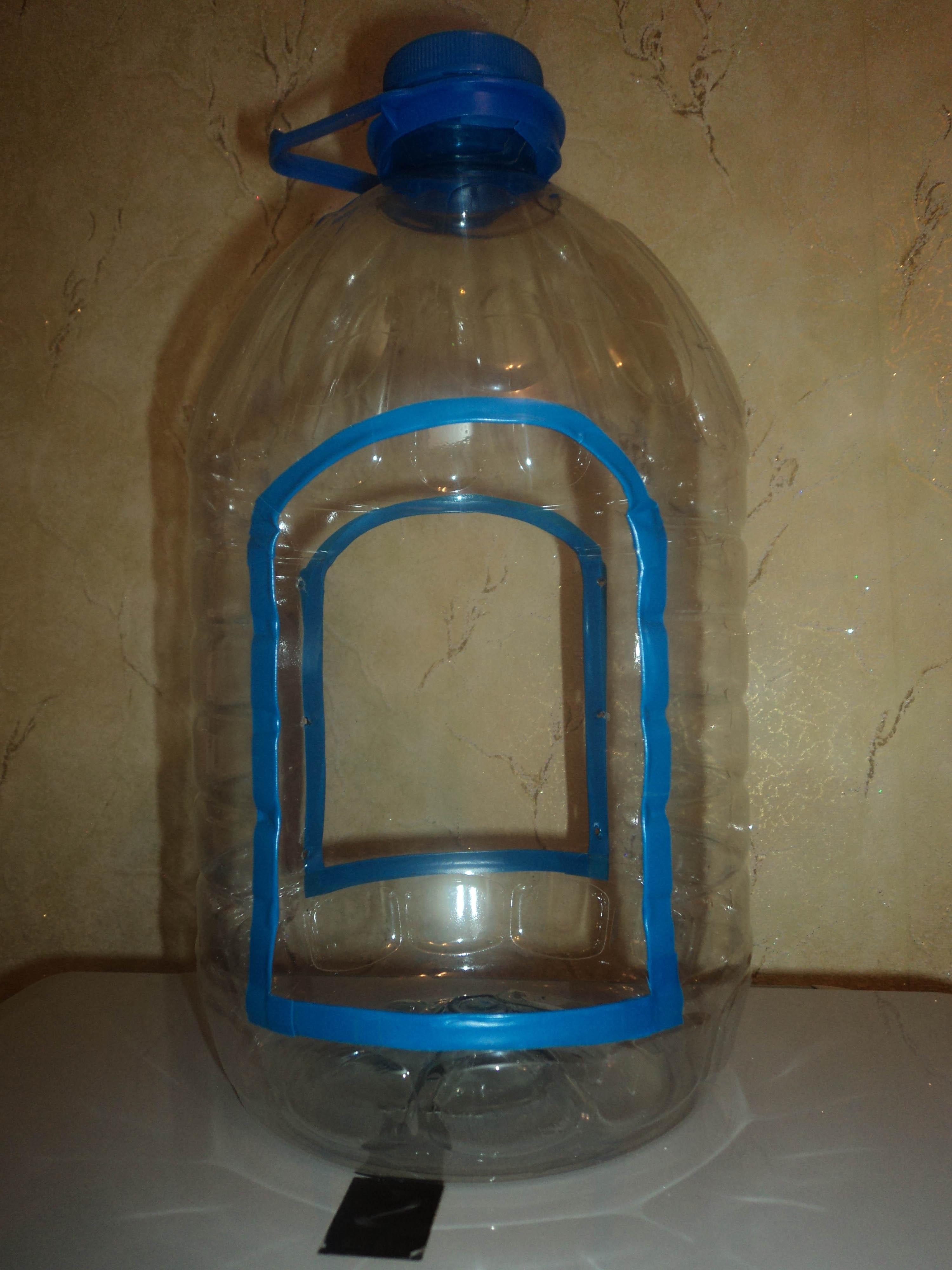 Из 5 литровой пластиковой бутылки своими руками