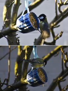 Кормушка для птиц для сада