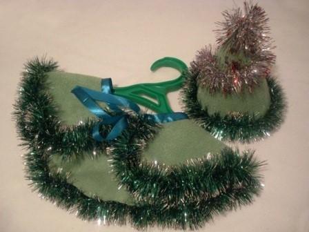 Костюм елочки для девочки на Новый год