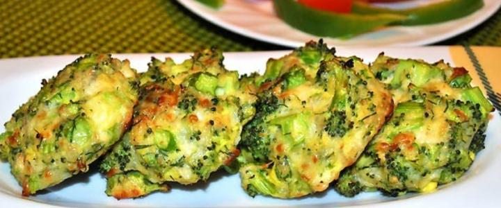 Вегетарианские котлеты из брокколи