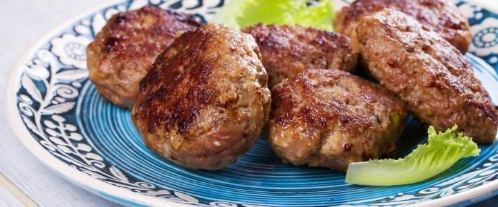 котлеты из свинины и говядины в духовке