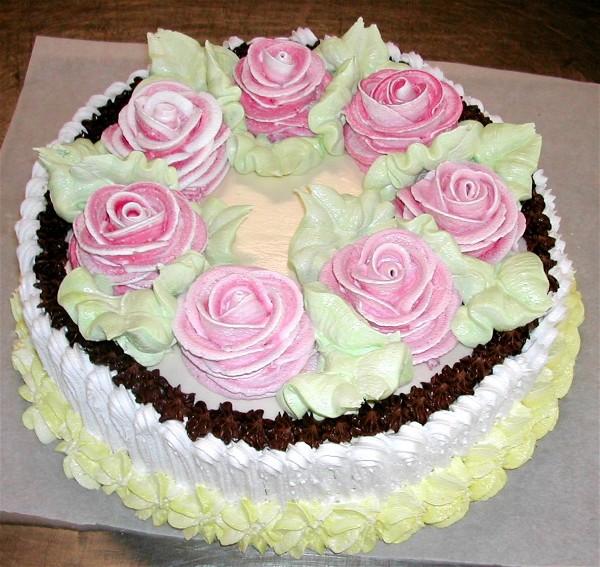 Украшение на торт своими руками фото