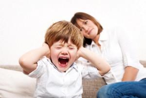 истерики ребенка