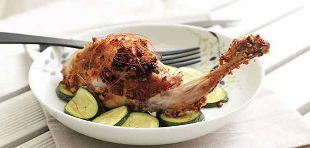 рецепты приготовления кролика в духовке с картошкой в сметане