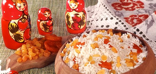 рецепт приготовления кутьи из риса с изюмом и медом