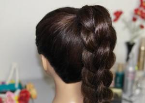 Плетение квадратной косы