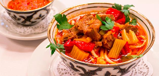 Лагман в домашних условиях рецепт татарский 31