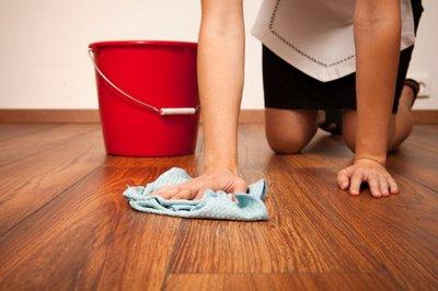 мытье ламината