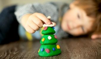 Лепка из соленого теста и игры с ним для малышей