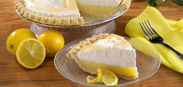 Лимонный пирог со сметаной