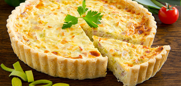 Лоранский пирог с сыром