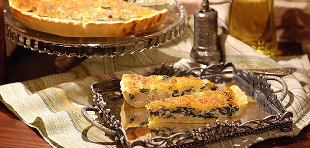 Лоранский пирог с рыбой
