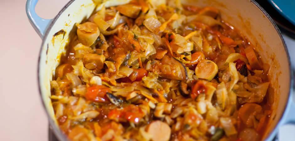 Рецепт солянки из капусты