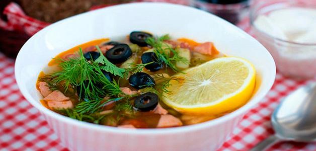 Лучшие рецепты солянки с мясом, колбасой и грибами
