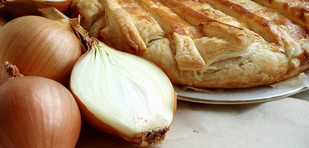 Луковый пирог - необычные рецепты выпечки