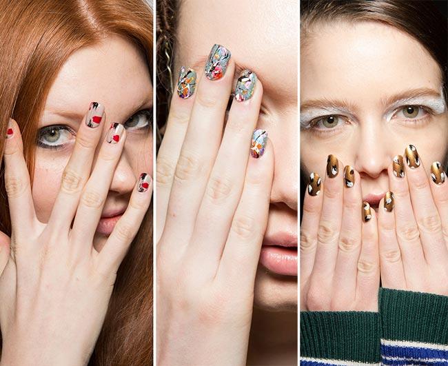Дизайн ногтей осень 2015