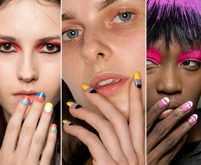 Маникюр осень 2015 модные тенденции
