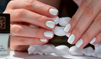 Белый в тренде – варианты белого маникюра для модниц