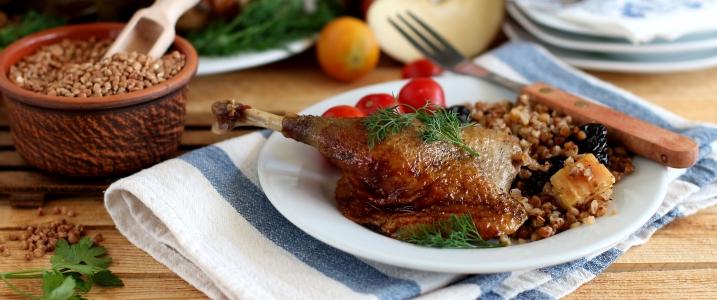 маринад для утки с медом и горчицей