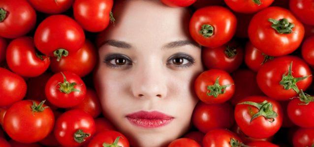 маска из помидоров от прыщей