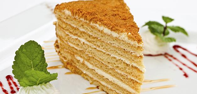 Медовый торт в домашних условиях с фото