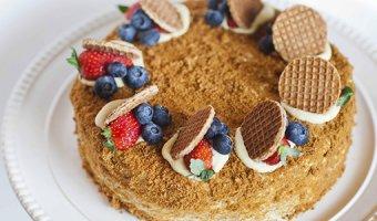 Медовый торт в домашних условиях: простые рецепты