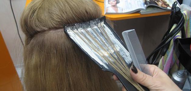 Мелирование длинных волос в домашних условиях