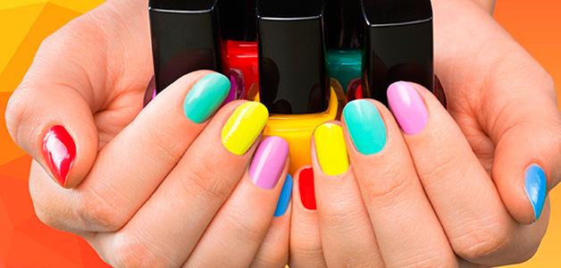 Модные тенденции маникюра весна-лето 2016 года - яркие и сочные краски