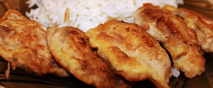 Молоки лососевых рыб на сковороде