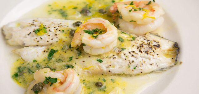 готовить морского окуня на сковороде