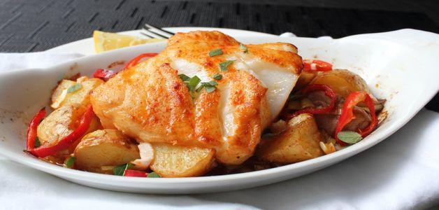морской окунь в духовке рецепты