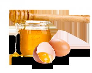 мед и желток