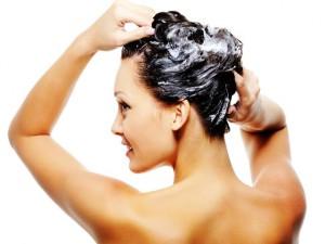 Мытье волос мылом