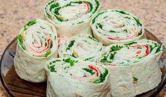 Начинки для лаваша – 4 вкусных рецепта
