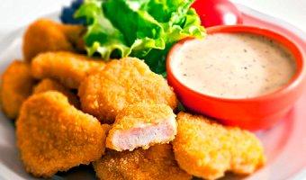Наггетсы в домашних условиях – рецепты из курицы
