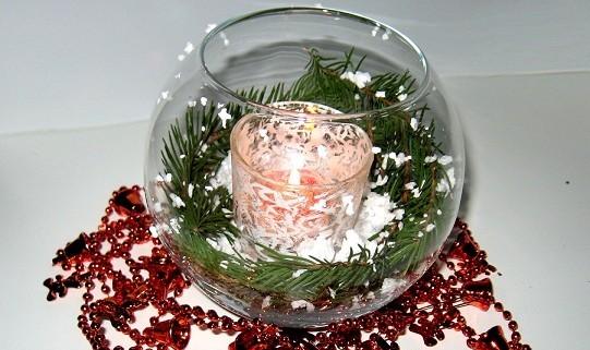 Новогодний вазы своими руками