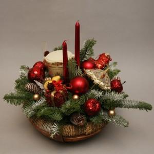 новогодние свечи 1