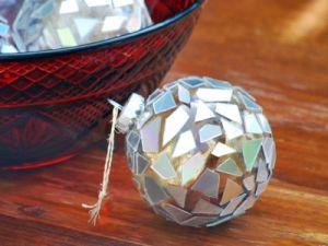 елочный диско-шар