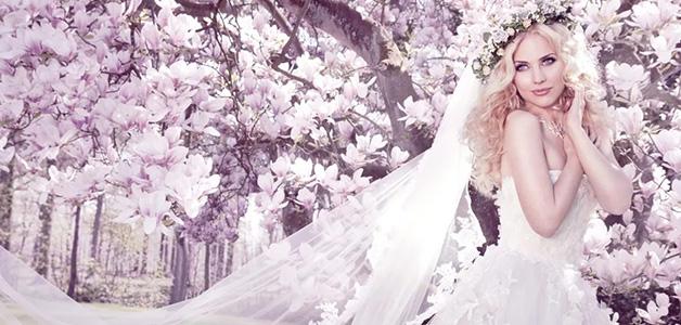 Свадебный образ невесты брюнетки