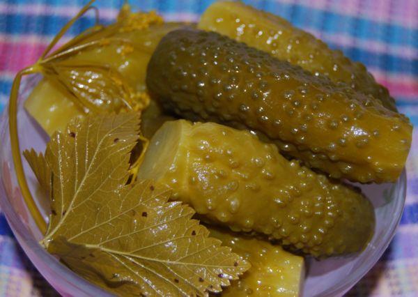 Оригинальные рецепты огурцов на зиму