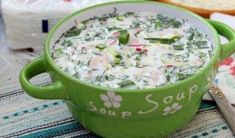 Окрошка с редькой – 4 рецепта вкусного блюда