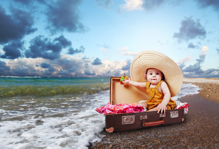 картинки с детьми на море