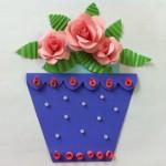 открытка цветочный горшок 19