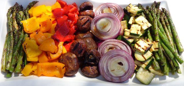 Овощи на мангале рецепты