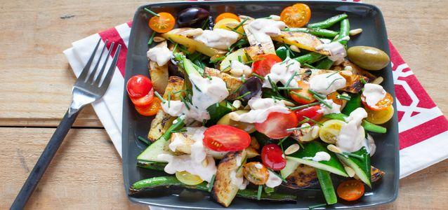 приготовить овощи на мангале