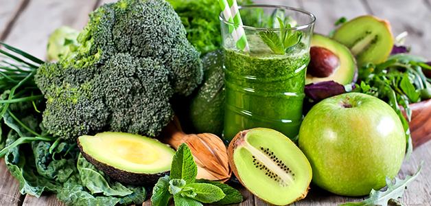 Вкусные овощные смузи