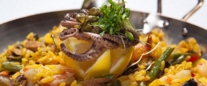 паэлья с морепродуктами в мультиварке