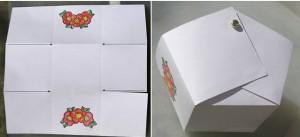 картонная корзинка 2