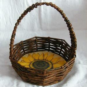 Пасхальная корзинка из шпагата своими руками Сама 953
